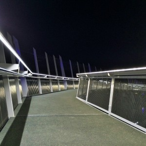 Kotuitui Whitinga now gives residents and tourists a stunning and unique night time experience. The lights and sequencing are changed according to the theme of the city. For example; green lights for St Patrick's Day, blue lights for Northland Rugby g and pink for Breast Cancer Awareness Week.