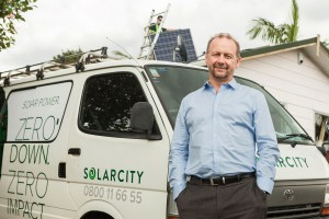 Andrew Booth CEO of solarcity